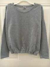 Girl's Gap Kids Heather Gray Elastic Waist Dolman Sleeve Pajama Top Size 14 XXL