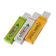 Safety Electric Shock Trick Joke Funny Prank Chewing Bubble Gum Pull Head