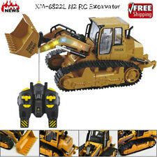 6822L 1:12 RC Excavator Shovel Remote Control Construction Bulldozer Truck Toy