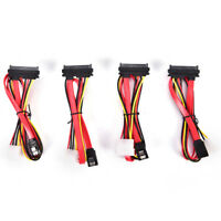 SATA Combo 15 Pin Power and 7 pin Data Cable 4 pin Molex to Serial ATA Lead H&P