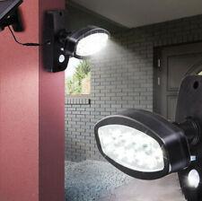Solar Power 10 LED Security Detector Spot Light Motion Sensor Outdoor Floodlight