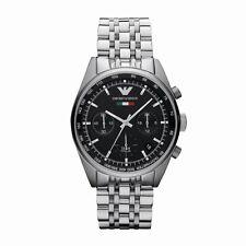 Emporio Armani Uhr AR5984 Sportivo Herren Chronograph Edelstahl Armbanduhr Datum