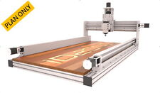CNC Router Plans , Incude 2x4ft + 4x2ft + 4x4ft Information (iD2CNC V.2.1)