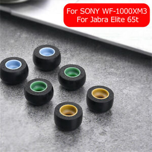 Replacement Earbuds Memory Foam Ear Tips For Jabra Elite 65t SONY WF-1000XM3
