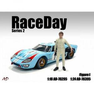 American Diorama 76295 Race Day Rennfahrer 1:18 Figur 1/1000 limitiert