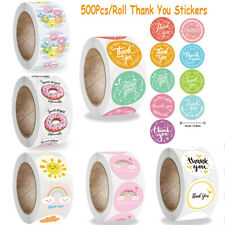 Packaging Labels Thank You Stickers Happy Birthday Seal Labels Adhesive Label