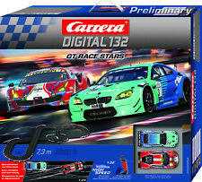 Carrera Digital 132 GT Race Stars Wireless+ slot car race set 30005