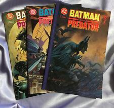 Batman Versus Predator~SUYDAM ART~COMPLETE Series~1,2,3~SET~DC Dark Horse~NM
