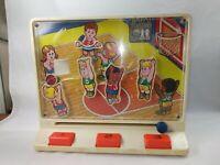 Vintage Tomy Super Shooters Mechanical Basketball Game STILL WORKS! 1978