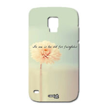 CUSTODIA COVER CASE FIORE FAVOLE FLOWERS PER SAMSUNG GALAXY S5 MINI G800