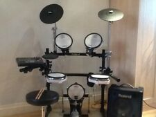 Roland TD-8KV drum system with KC-60 Amplifier and Roland Head Phones.