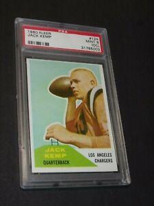 1960 Fleer Jack Kemp #124 PSA Graded 9.0 Chargers Bills Nice Card