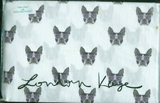 London Kaye ~ 3 Pc Twin Xl Sheet Set ~ French Bulldog / Boston Terrier ~ Nip