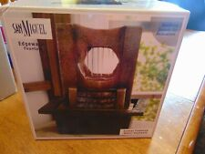 nib san miguel edgewater indoor tabletop water fountain soothing sounds msrp $40
