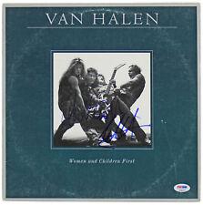 Eddie Van Halen & Alex Van Halen Signed Album Cover W/ Vinyl PSA/DNA #S38059