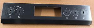 5304509317 Frigidaire Range Stove Control Panel Trim Black Stainless