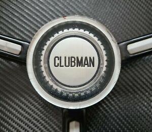 Classic Original Mini Clubman Steering Wheel Centre Cap Badge Emblem 1275GT BMC