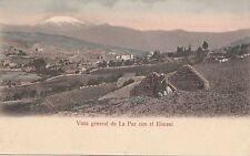 B81911 con el ilimani types vista general de  la paz bolivia front/back image