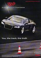 Classic Advertisement Ad A43-B 2007 Audi S4-340hp V8 power thrills