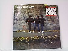 "RUN D M C ""WALK THIS WAY / KING OF ROCK"" 45w/PS MINT"