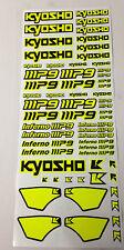 Kit adesivi Kyosho Inferno MP9 TKI3