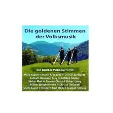 DIE GOLDENEN STIMMEN DER VOLKSMUSIK - MCPS SAMPLER - CD - OVP