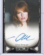 Stargate Universe Ona Grauer auto card