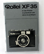 Rollei XF 35 Instruction Book - German, English, French