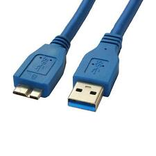 0.5m 1.5Ft USB 3.0 Super Speed 5Gbps Type A Male to Micro B Male Cable Cord