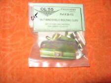 1955 1956 1957 chevy pontiac  windshield molding clips 5 pc