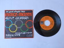 Disco 45 giri MEXICO MELODY Helmut Zacharias colonna sonora Giochi olimpici 68