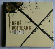 RENE BOTTLANG SOLONGO RARE & OOP CD - SWISS JAZZ SUISSE