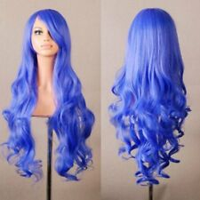 Women's Long Hair Full Wig Curly Straight Wigs Party Costume Anime Cosplay WT