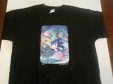 SONIC THE HEDGEHOG DVD COVER ART LIMITED EDITION MED SIZE T-SHIRT - Ken Penders
