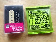 Seymour Duncan Pearly Gates Humbucker Pickup Neck Zebra SHPG-1 ERNIE BALL STRING