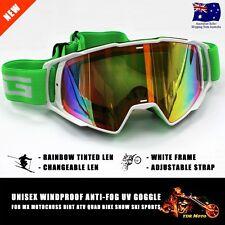 Dirt Bike Gear MX Motocross Moto X Goggles Anti-fog UV protection Tinted