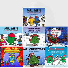 Roger Hargreaves Sparkly Mr. Men Christmas Stories Collection 7 Books set