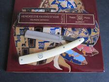 Henckels & Hammesfahr No. 98 5/8 Straight Razor Solingen Germany in Original Box
