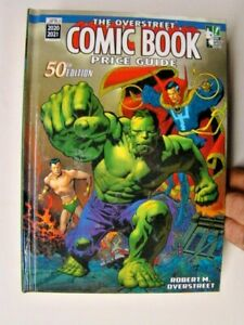 2020-21 Overstreet Comic Book Price Guide Hard Cover Book 50th Edition Defenders
