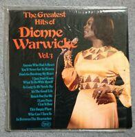 DIONNE WARWICKE - The Greatest Hits of Dionne Warwicke Vol.3 Vinyl LP (SHM829)
