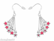 New Hooch Designer Jewellery Womens Girls Pair Earring Charm Style Dimante Star