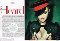 Coupure de Presse Clipping 2013 (2 pages) Amber Heard