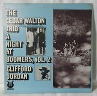 "THE CEDAR WALTON TRIO ""A Night At Boomers"" Vol.2 1974 (Muse/MR5022) Jazz VG+/VG+"