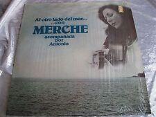 Rare Latin Guitar Folk LP :  Merche Y Antonio ~ Al Otro Lado Del Mar ~ Musart