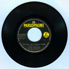 Philippines CLIFF RICHARD I'll Love You Forever Today 45 rpm Record