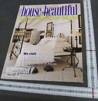 HOUSE BEAUTIFUL Magazine January 1998