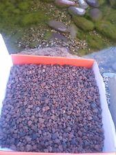 Aquarium gravel / Reptile terrarium natural red lava gravel 9 lbs.