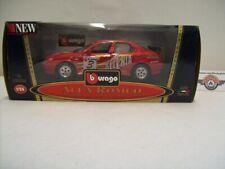 "Alfa Romeo 156 Gran Turismo #3 ""SELENIA"", 1997, red, Bburago 1:24 (Italy), OVP"