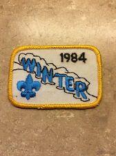 VINTAGE 1984 WINTER BSA PATCH