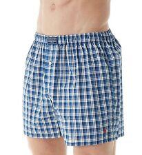 NWT Polo Ralph Lauren Men's Plaid Woven Boxer Underwear MSRP $28.00